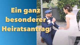 Martin Krendl - Heiratsantrag - Wir Zwoa san jetzt Oans