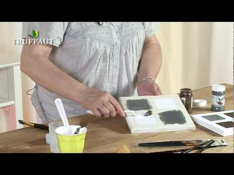 diy d co peinture 3d effet m tallis e jardinerie truffaut tv youtube. Black Bedroom Furniture Sets. Home Design Ideas