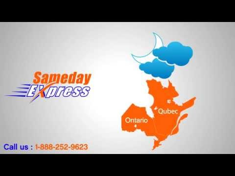 Sameday Express | Reliable Courier Service in Canada