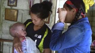 BEAUTIFUL FILIPINA OVERSEAS WORKER MAY AND GWEN VISIT BABY FAITH