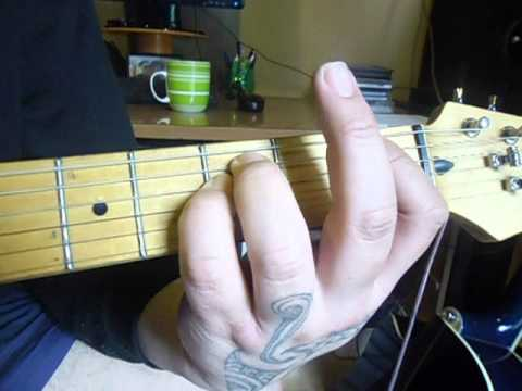 SONG 2: Decode - Rhythm Guitar (CHORDS ONLY) PART 1