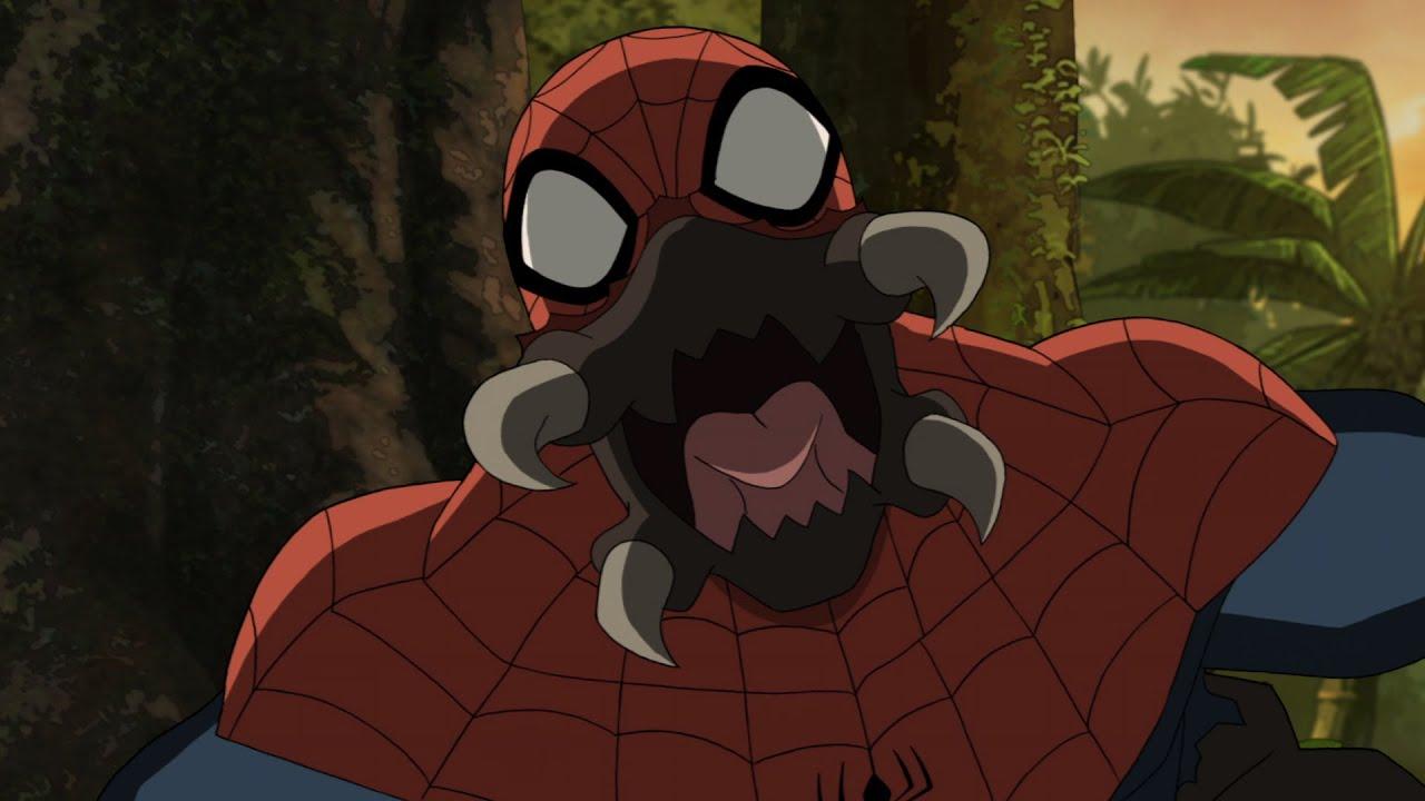 the savage spider man