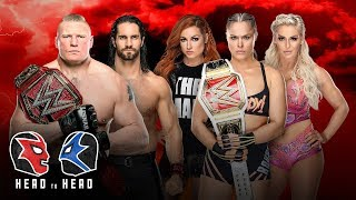 Who should main event WrestleMania 35?: WWE Head to Head