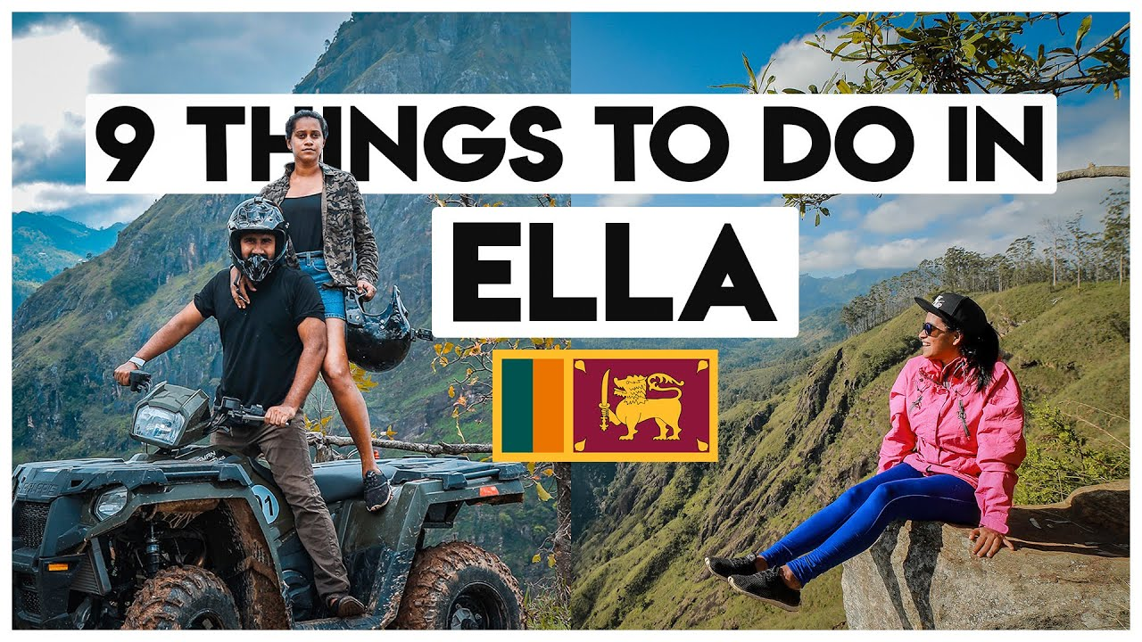 Things To Do In Ella | Sri Lanka | Travel With Wife