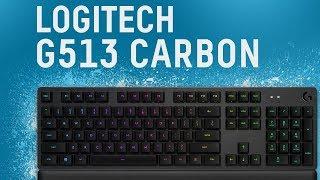 Logitech G513 Carbon / Mechanik na nietypowych  przełącznikach.
