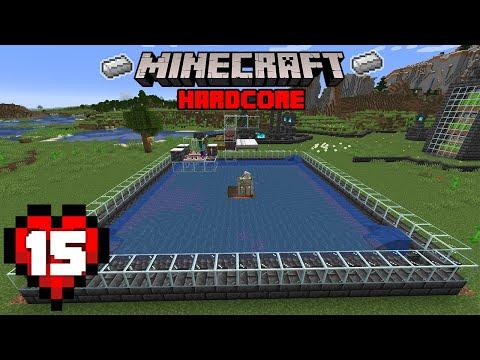 Minecraft: The INSANE Iron Farm! - 1.17 Hardcore Let's Play   15