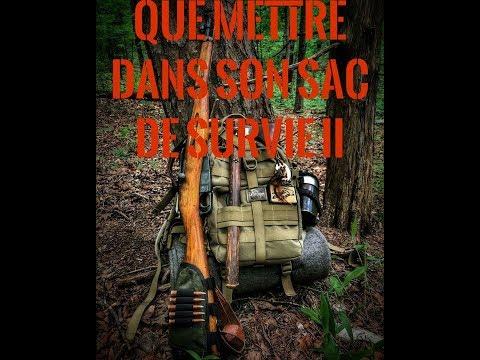 QUE METTRE DANS SON SAC DE SURVIE 2