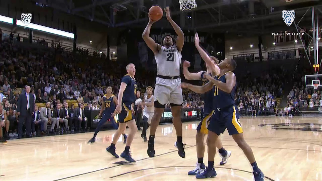 Highlights: Colorado 69, UC Irvine 53