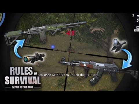 Trying Dual ARs For the First Time in Rules of Survival
