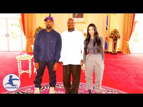 African American Rapper Kanye West is in Uganda to Shoot Music Video