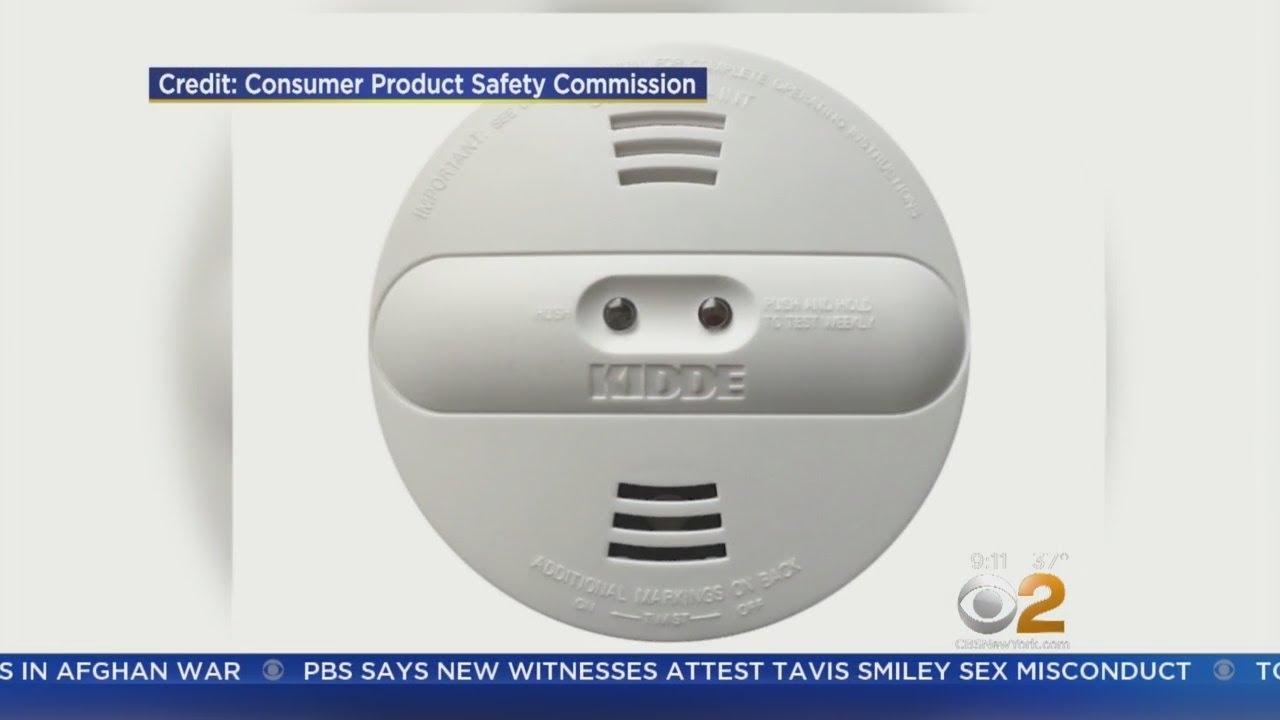 Manufacturer Kidde Recalls Half Million Smoke Alarms Youtube
