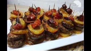 Firinda patatesli Patlicanli köfte Tarifi I  Ankarsrum destekli Video