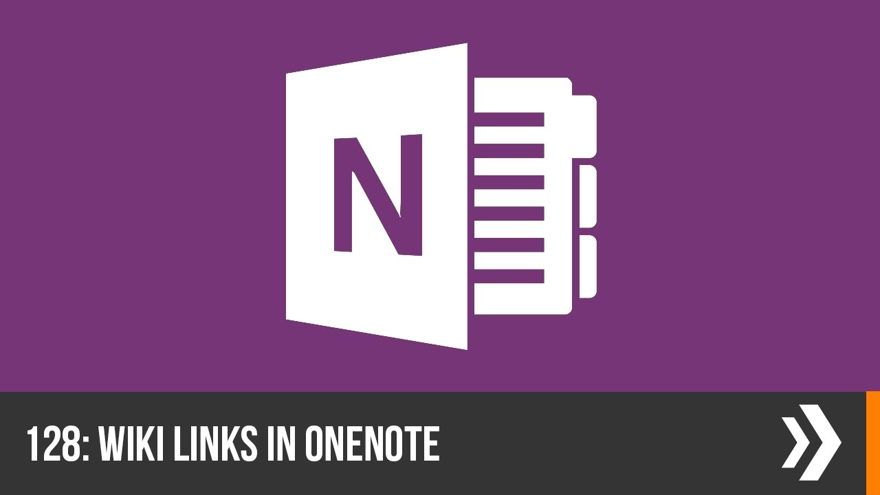 Creating Wiki Links in OneNote | Everyday Office 018