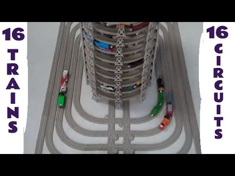 hqdefault trackmaster 16 engines on 16 circuits thomas the tank engine toy,