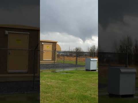 Tornado near the NWS Paducah, KY Weather Office