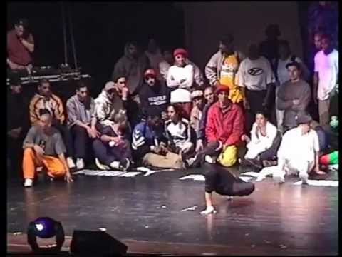 Ultimate B-boy Session Stuttgart 1998 - Europe vs. USA