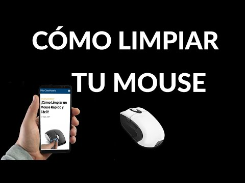 Cómo Limpiar un Mouse