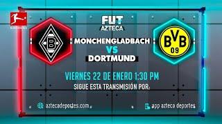 Mönchengladbach vs Dortmund | Jornada 18 | Bundesliga