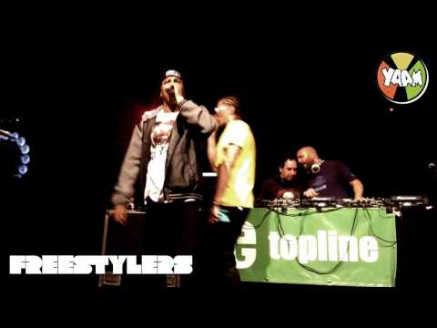 Freestylers Feat. Navigator & Tenor Fly - Live @ YAAM - Berlin 02.10.2014