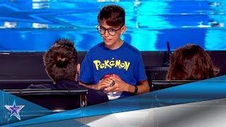 Este MAGO de 10 años cuenta una historia con sus CARTAS | Audiciones 7 | Got Talent España 5 (2019)