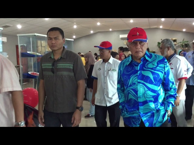 Lawatan TYT Melaka Tun Datuk Seri Utama Dr. Mohd Khalil bin Yaakob ke #myDOF Valley #MAHA2016