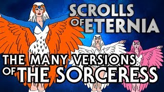 Many Versions of The Sorceress in He-Man and the Masters of the Universe