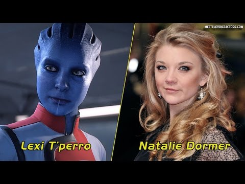 Mass Effect Andromeda - Characters And Voice Actors |