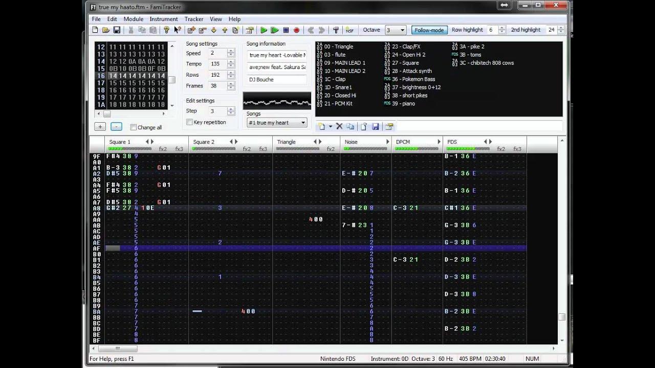 (8-Bit NES/FDS) true my heart -Lovable Mix- – ave