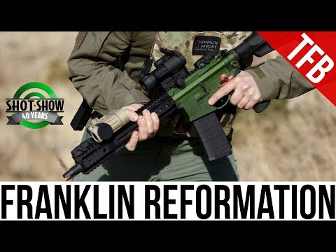 [SHOT 2018] Franklin Armory Reformation Follow-Up: Performance and Ammo