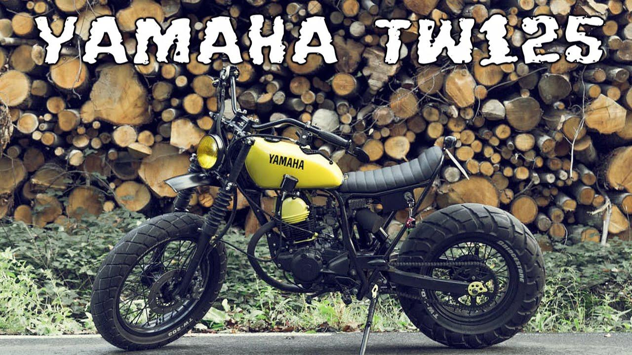 Yamaha Tw200 Modified YAMAHA TW125 custom - ...
