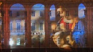 250-летие Эрмитажа отметили световым шоу в Санкт-Петербурге (новости) http://9kommentariev.ru/
