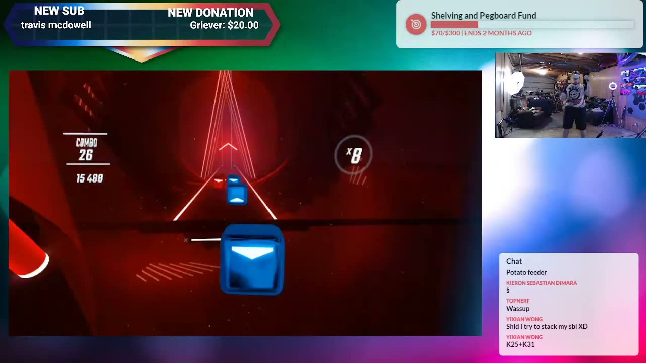 Playing Some Beat Saber And Pavlov While I Test Streaming Settings!