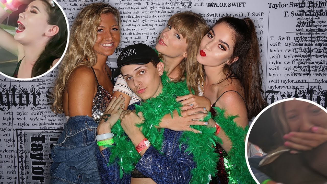Meeting Taylor Swift At The Reputation Tour Vlog Storytime Youtube