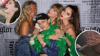 MEETING TAYLOR SWIFT AT THE REPUTATION TOUR *vlog/storytime*