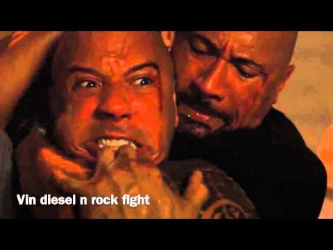 Vin diesel and rock's fight