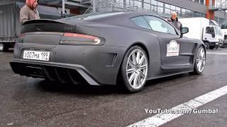 Aston Martin DBS Mansory Cyrus hits Rev-Limiter!! 740HP!!