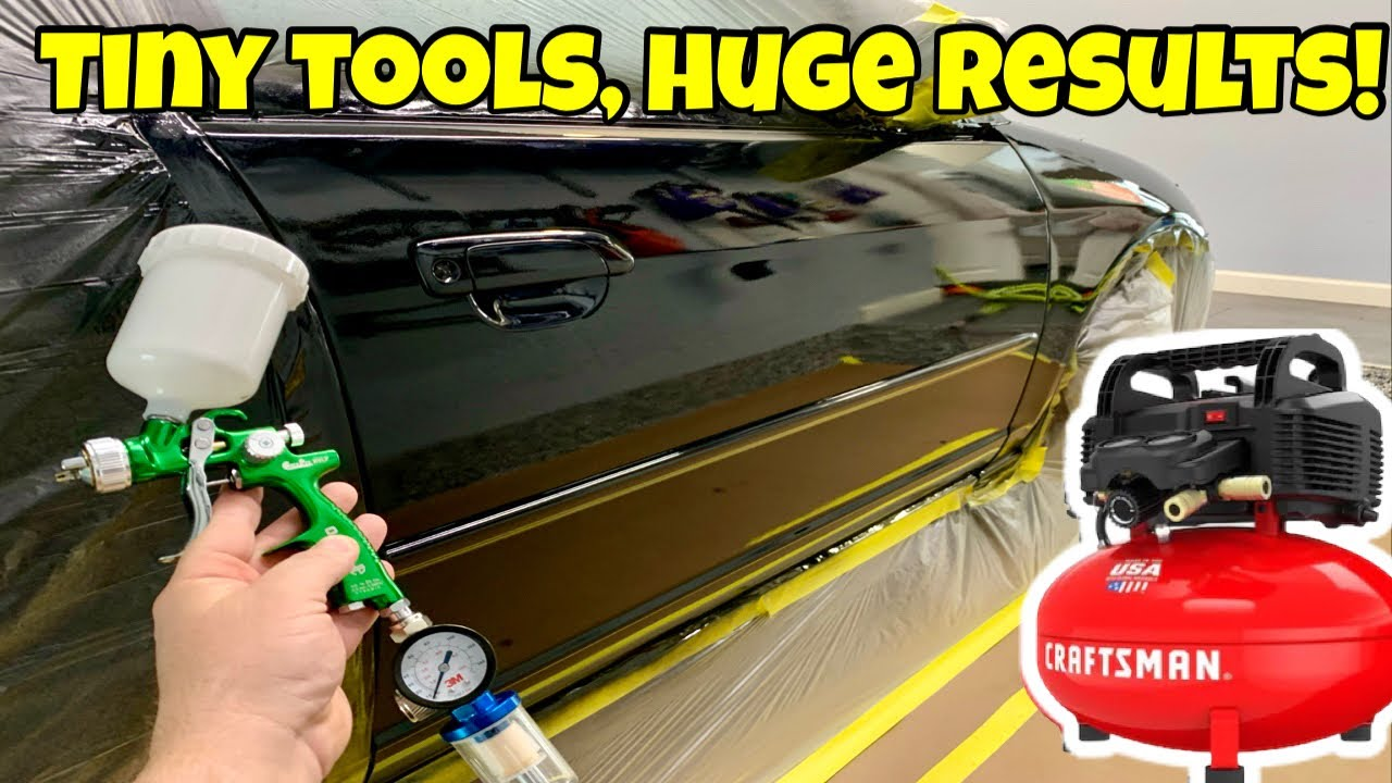 The Cheapest Way to Paint a Car with AMAZING Results!