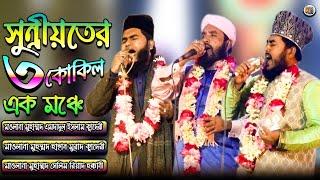 সুন্নীয়তের ৩ কোকিল এক মঞ্চে | Amdadul Islam Qadri | Hasan Murad Qadri | Salim Riyad Hakkani