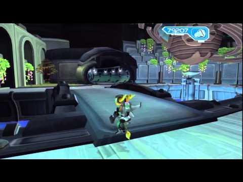 Ratchet & Clank 2 - Planète Notak, Canal City : Explore la promenade