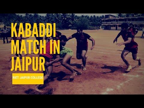 Kabaddi match in jaipur (RIET jaipur) sport#15