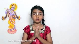 Bhagavad Gita Sloka Recitation 09.25-27 by Tulsi Patel