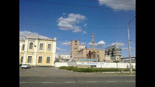 Этапы разрушения Лисичанского содового завода