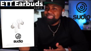 Sudio ETT Earbuds   Unboxing and First Impressions