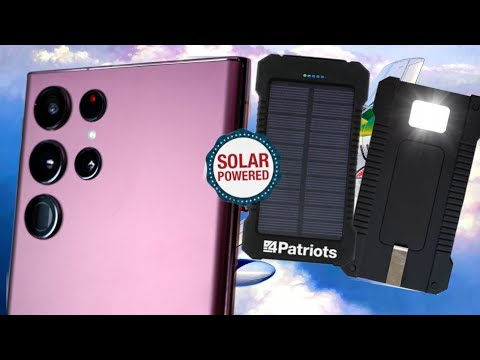 Patriot Power Cell (Real World) Review: Solar Phone Charger