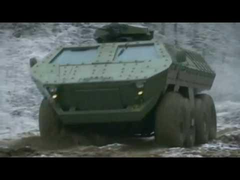 Lazar MRAP ( Mine Resistant Ambush Protected )