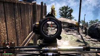 Far Cry 4 - Shikharpur outpost #15 Liberated: 2 Alarms, Crossbow, Chopper, Turret Gameplay PS4