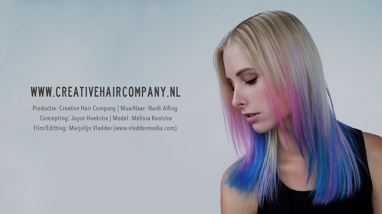 Pasteltinten Haar Creative Hair Company Pastel Waves Youtube