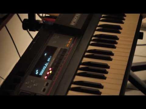 EDK Making a Hip Hop Beat on the Ensoniq EPS Video2)