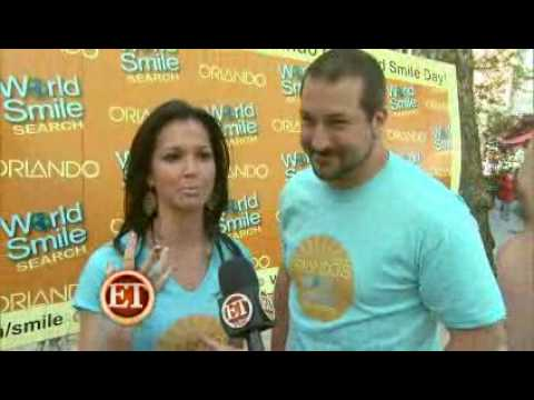 Joey Fatone & Melissa Rycroft 'Dancing' in Orlando