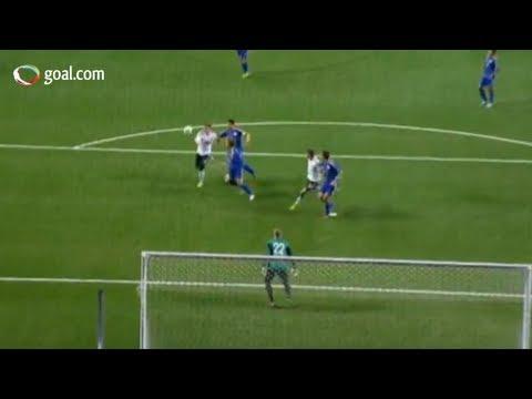 Unbelievable Schweinsteiger skill and goal   Kazakhstan v Germany